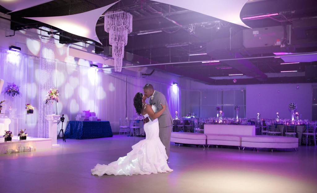 Beautiful Wedding at Heaven Event Center in Orlando with Young Love Events